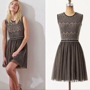 Anthropologie Weston Wear Fit n Flare Tulle Dress